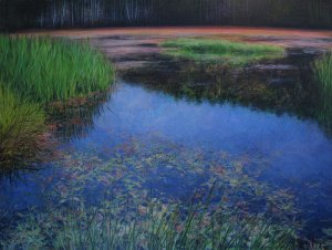 "The Inundation of Spring 45""x60"""