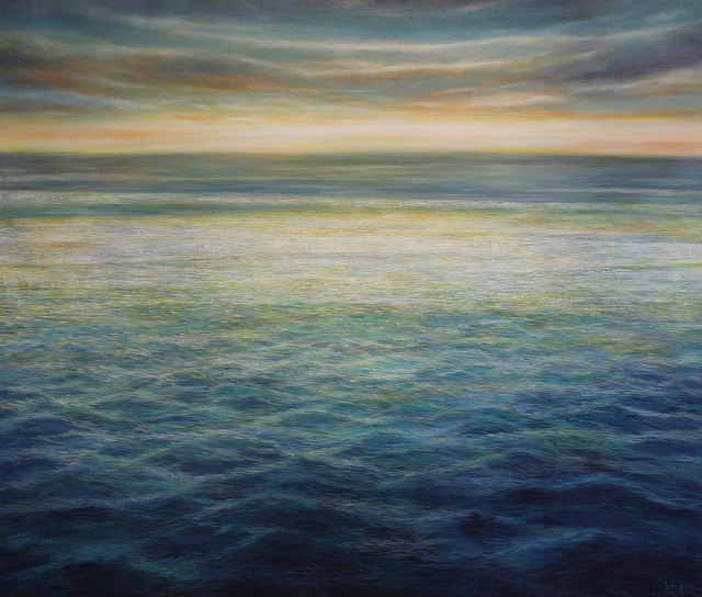 "Endless Horizon Acrylic on canvas 46""x54"""